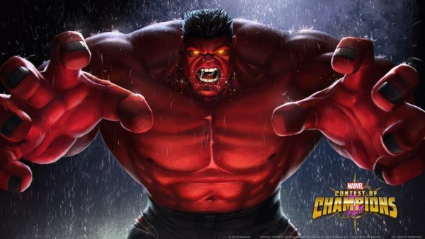 Marvel Contest of Champions, how to beat red hulk in MCOC
