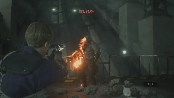 Resident Evil 2 How To Beat Tyrant Mr X