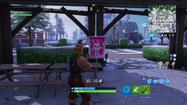 Search a Showtime Poster in Fortnite
