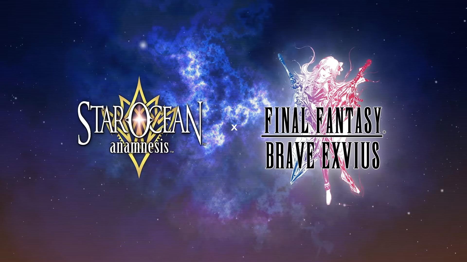 The Final Fantasy Brave Exvius X Star Ocean Anamnesis Crossover