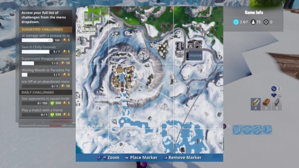 Where to Search Chilly Gnomes in Fortnite