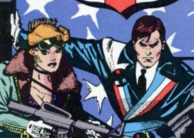 American Flagg from Dynamite Comics