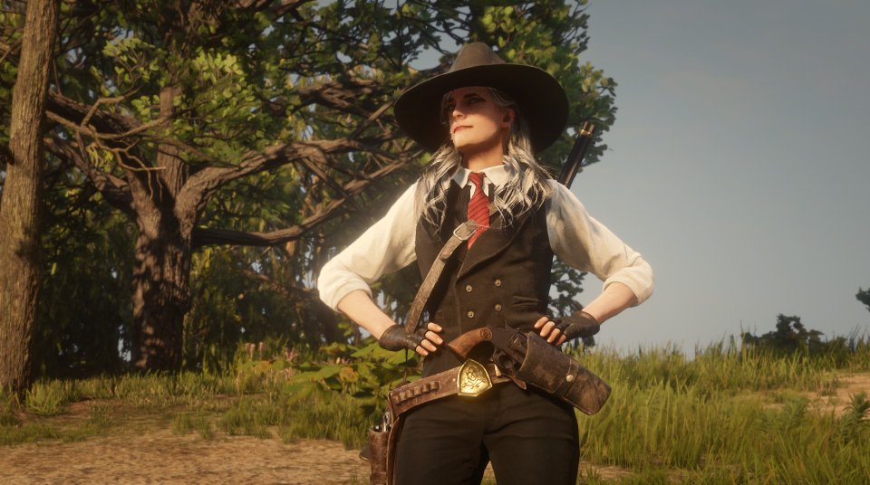 best red dead online created characters