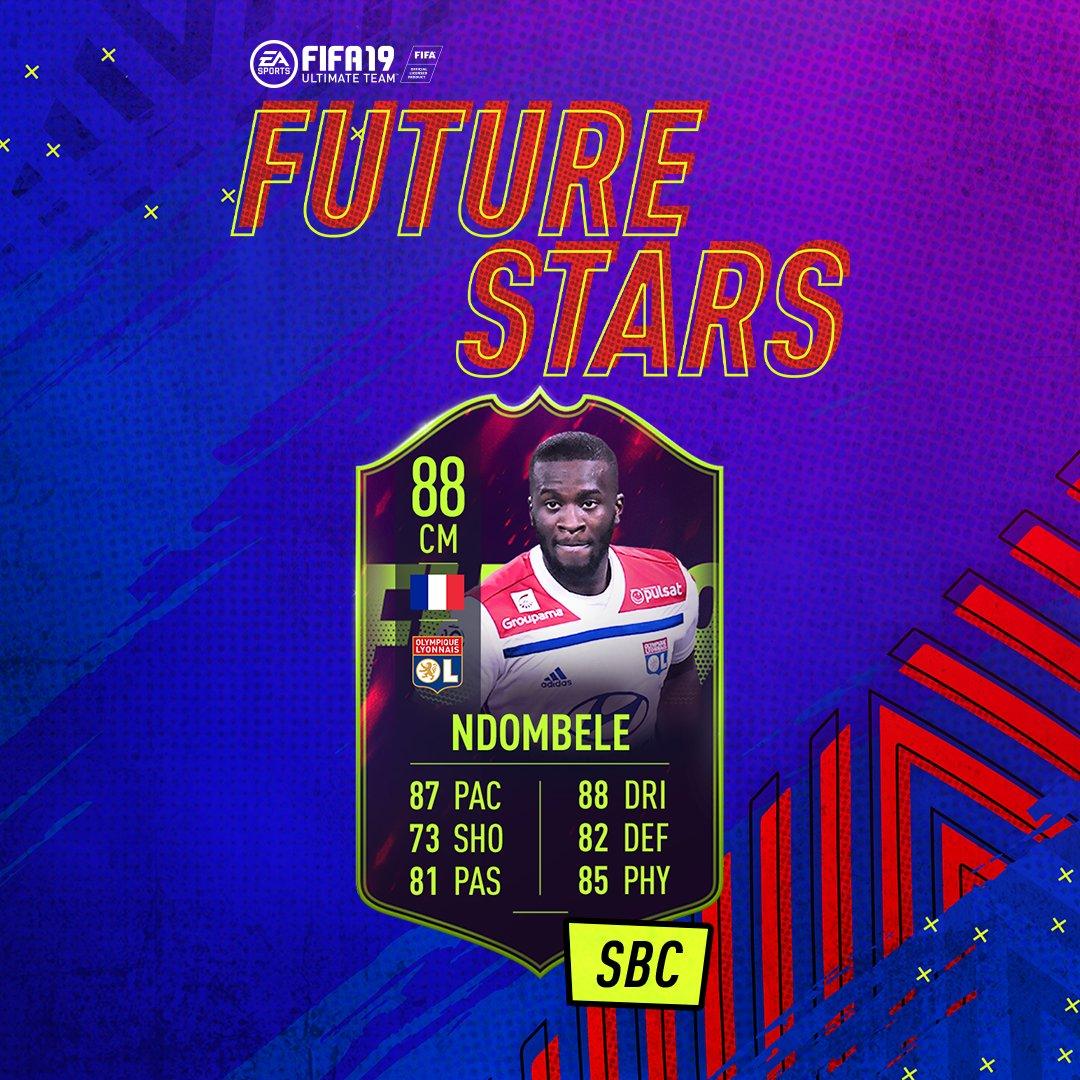 fifa 19, future stars ndombele sbc