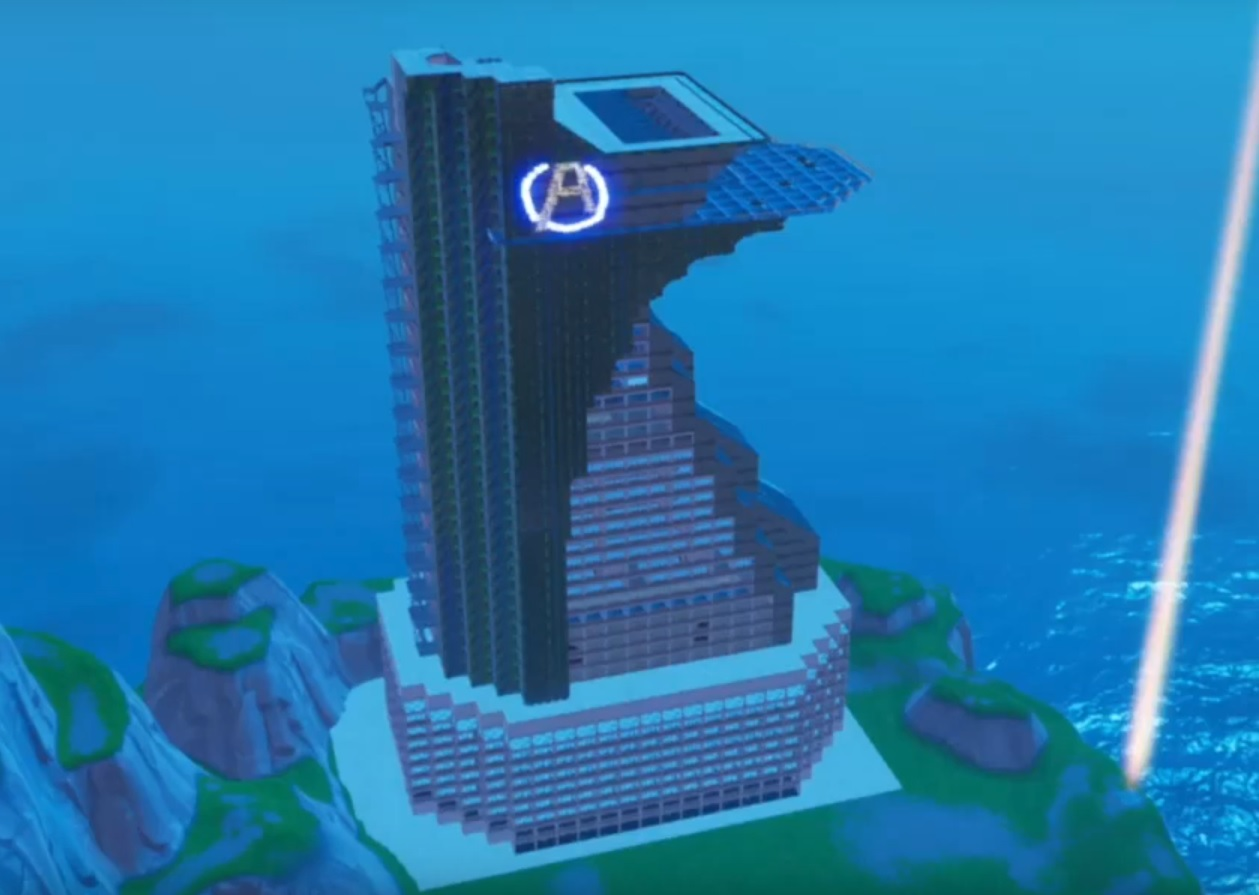 fortnite tony's tower