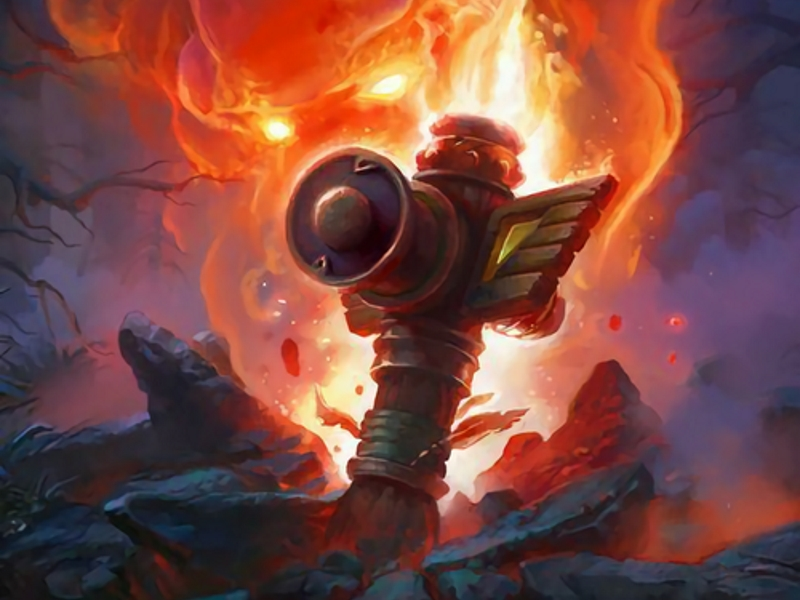 Hearthstone's Flametongue Totem