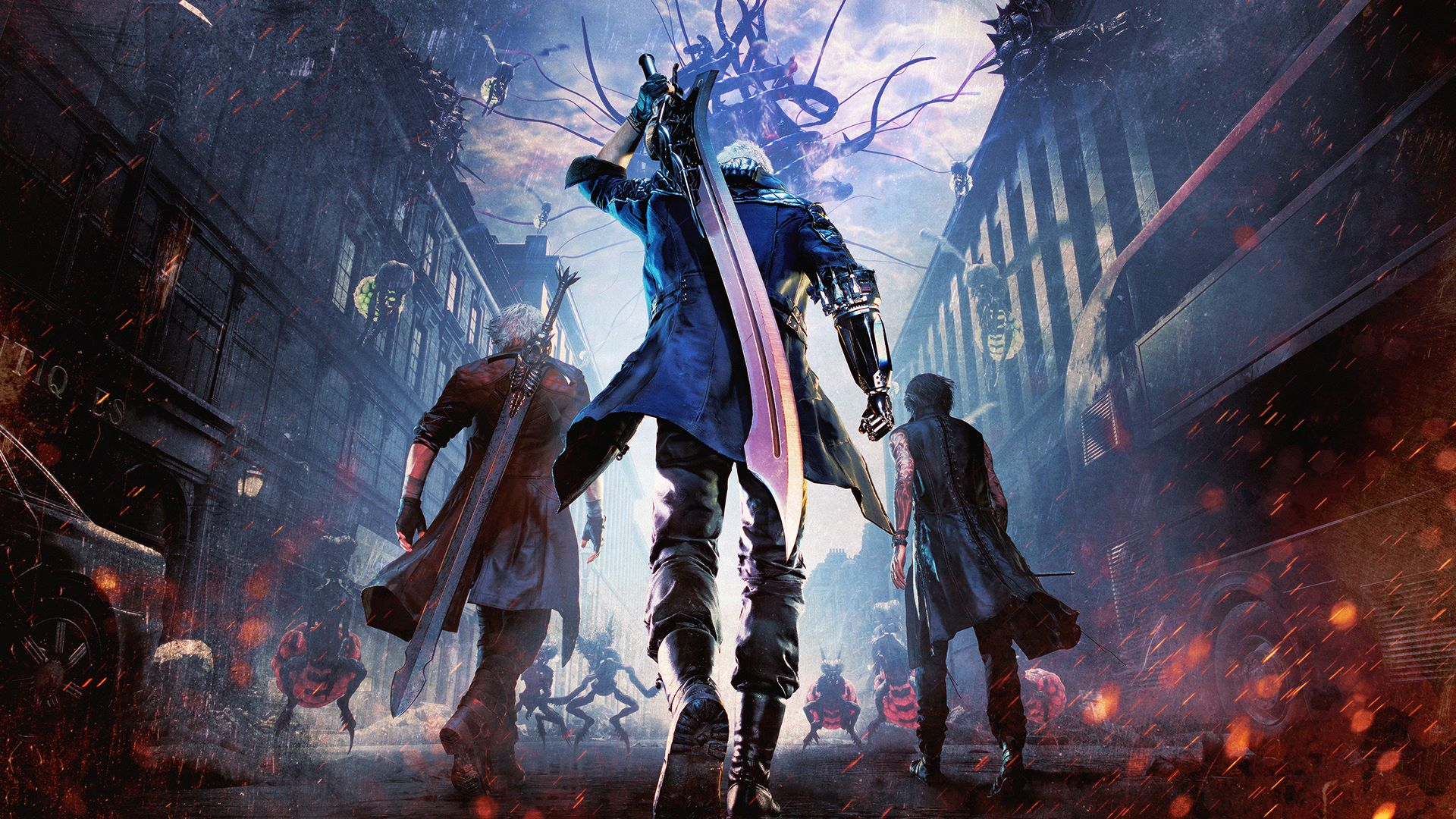 is devil may cry 5 coming to nintendo switch, devil may cry 5 switch version, port, capcom