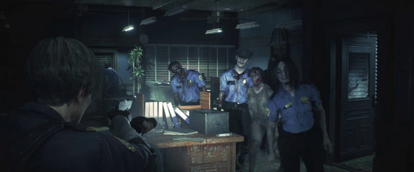 is there a fixed camera setting in resident evil 2 remake
