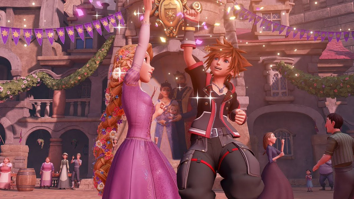 Kingdom Hearts 3, dancing
