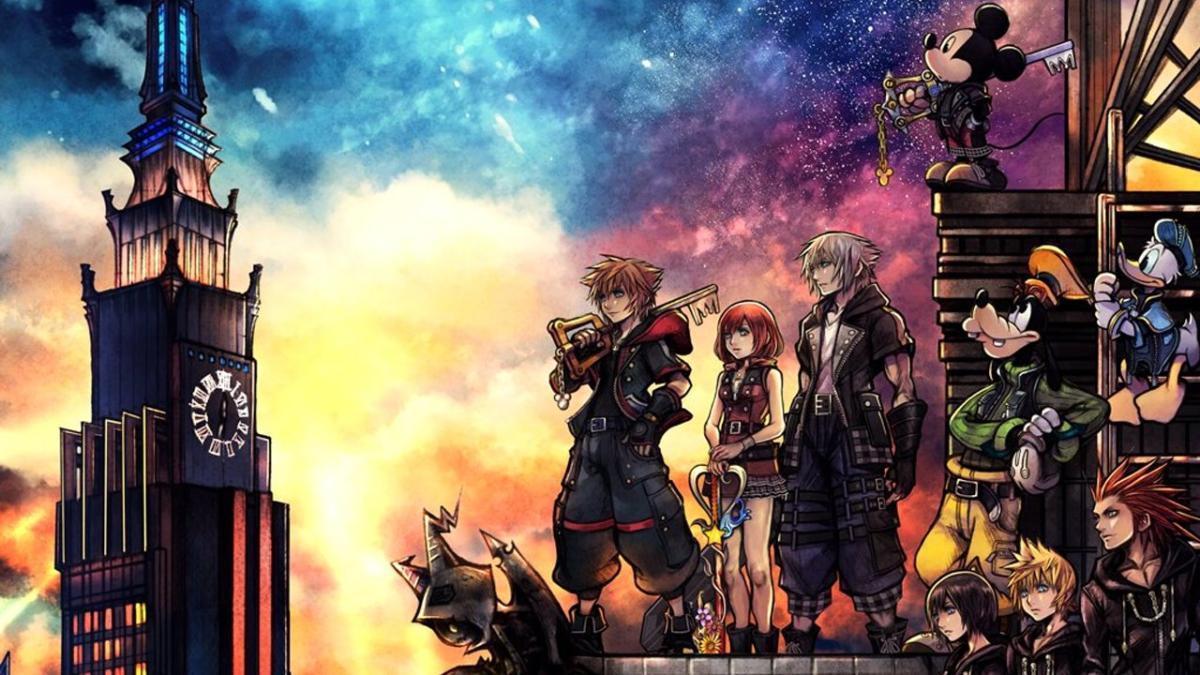 kingdom hearts 3, final fantasy characters