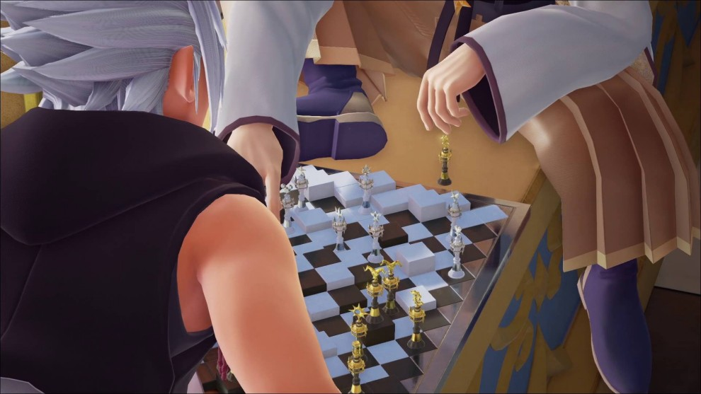 who the chess players are in kingdom hearts 3, characters playing chess, xehanort, eraqus