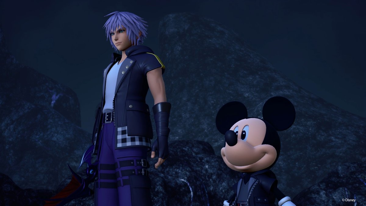 should you help riku or mickey in kingdom hearts 3, choice, keyblade graveyard, riku and mickey