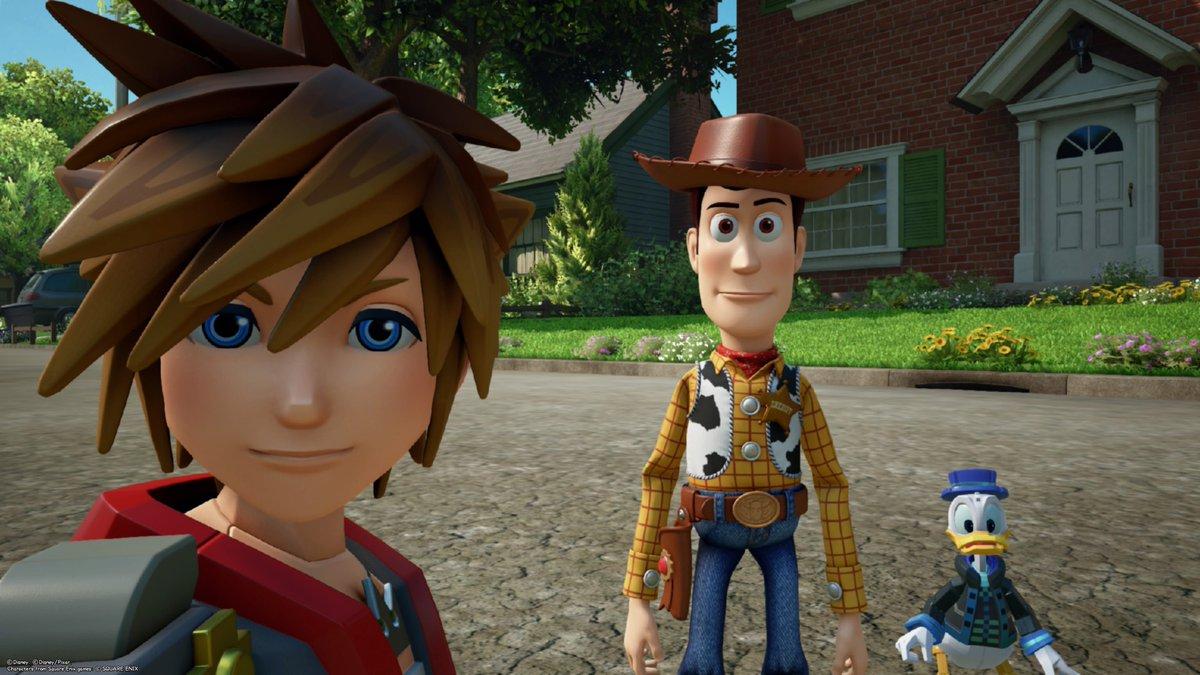 kingdom hearts 3, splitscreen co-op multiplayer