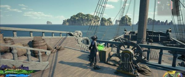 how to level up the leviathan in kingdom hearts 3, level up ship, power up leviathan, the caribbean, kingdom hearts iii