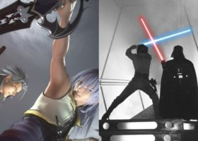 kingdom hearts is basically star wars, kingdom hearts, star wars, similarities, comparison