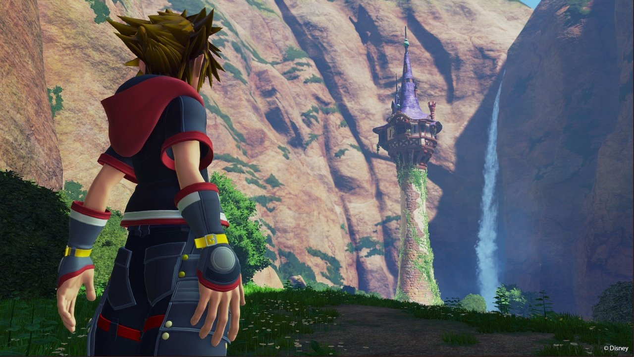 Kingdom Hearts 3, Tangled, Rapunzel, Birds