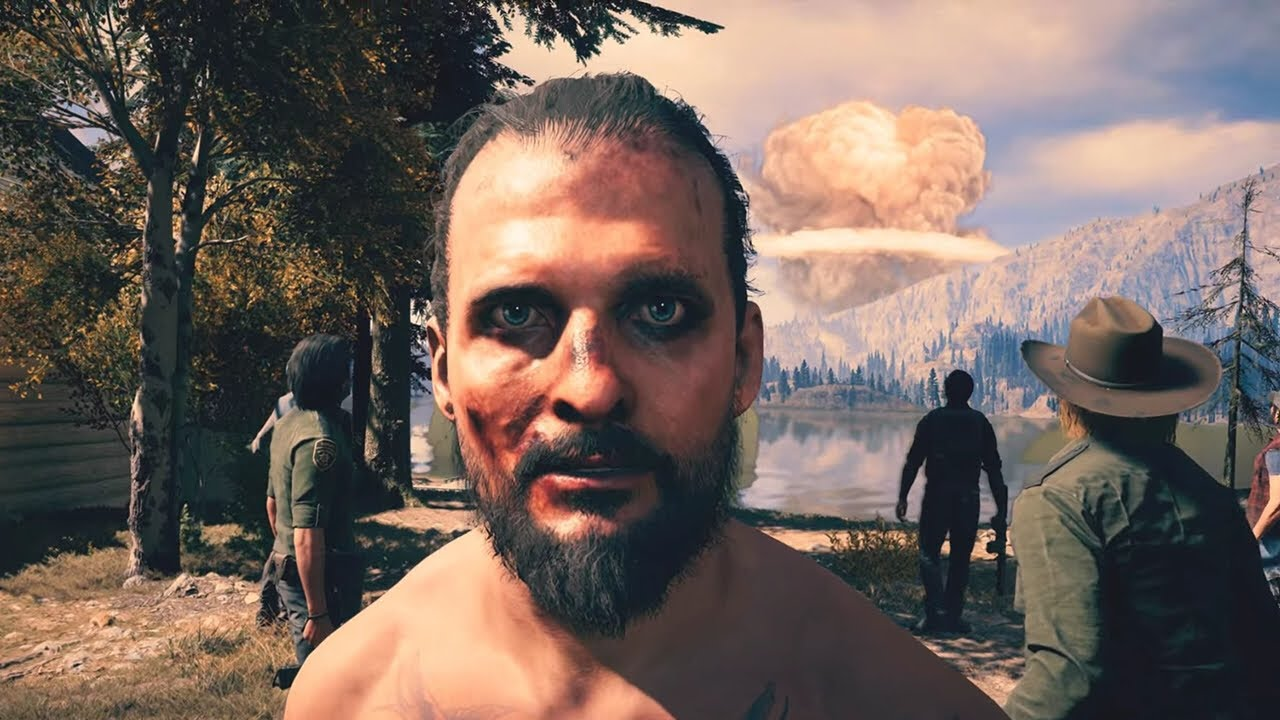 Far Cry 5 New Dawn Ending Nukes