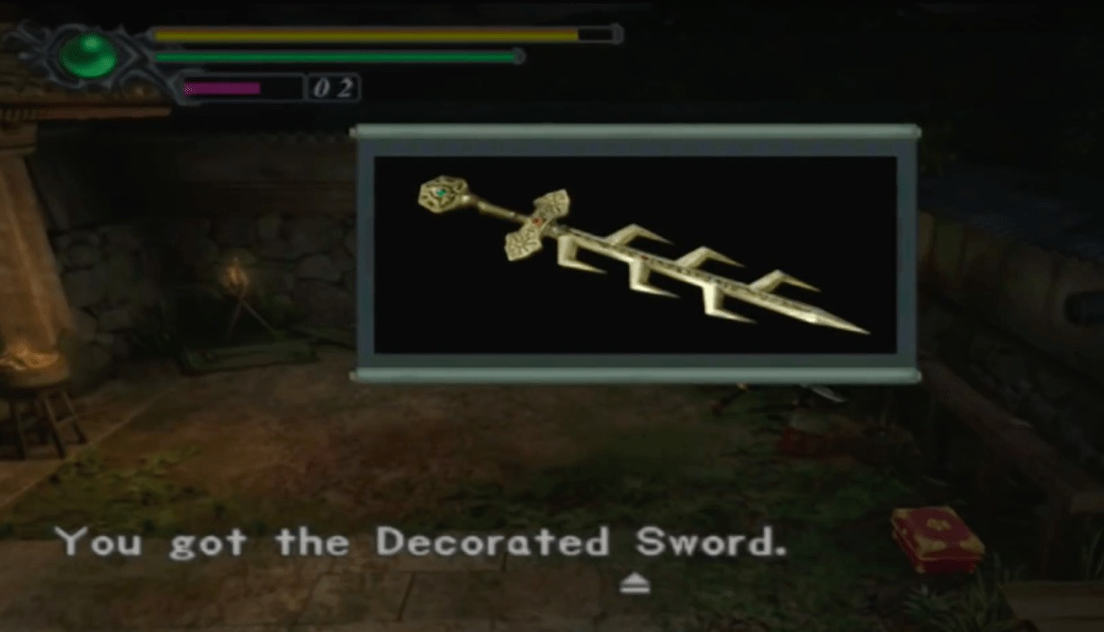 Onimusha Warlords Remastered, Decorated Sword, how to get,