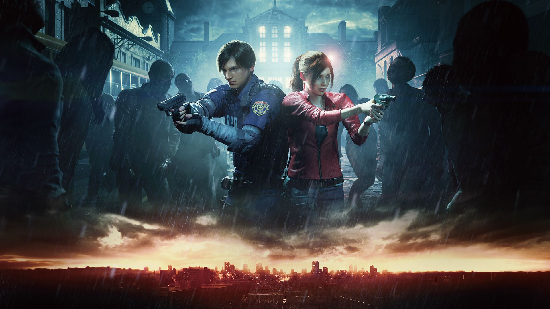 resident evil 2, remake, local splitscreen co-op multiplayer