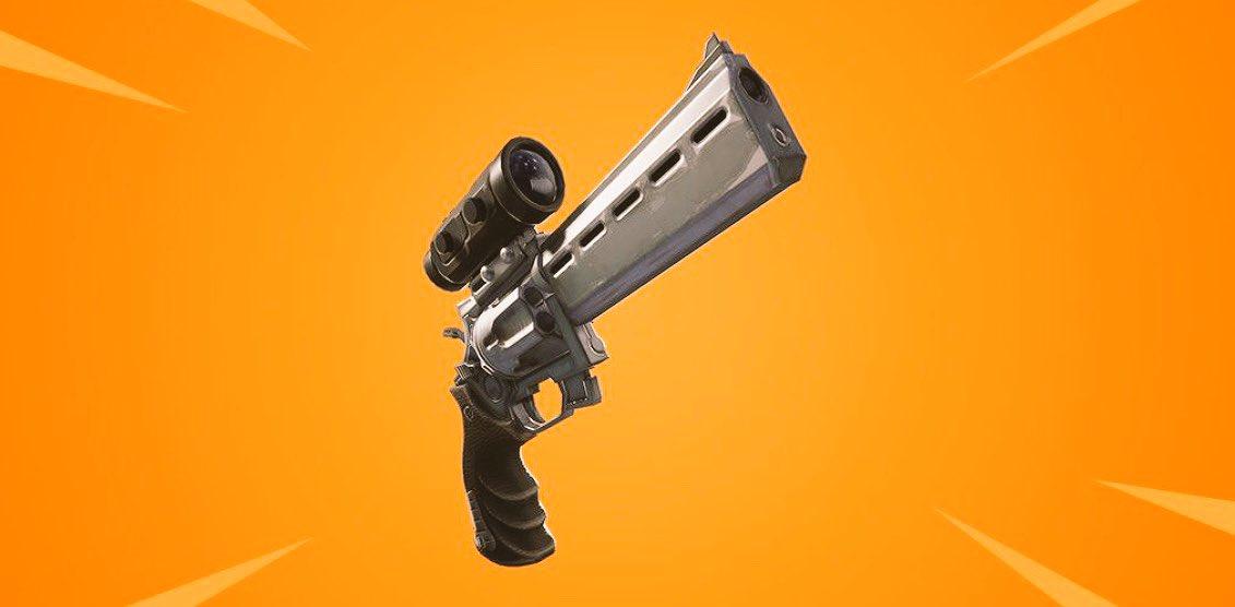 scoped revolver fortnite