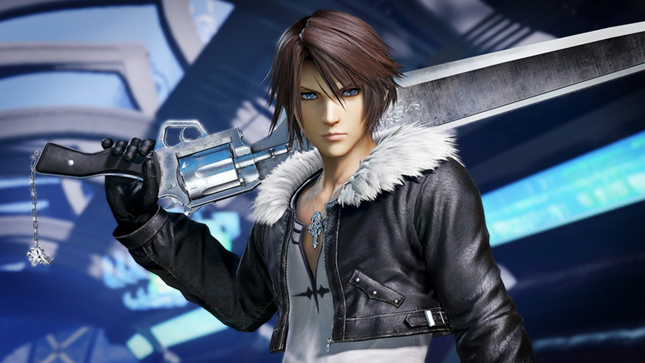 Squall from Final Fantasy VIII