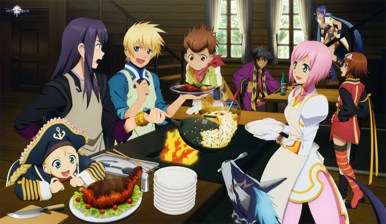 how to get all recipes in tales of vesperia definitive edition, tales of vesperia cooking, tales of vesperia recipes, wonder chef locations