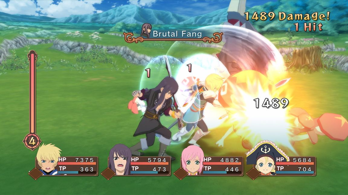 how to change characters in battle in tales of vesperia, tales of vesperia definitive edition, moon selector, change party member in battle