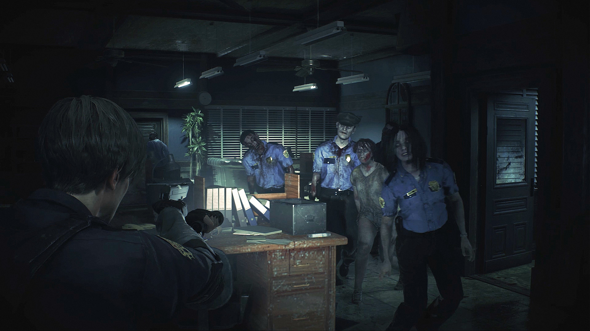 what the dark room sink is used for in Resident Evil 2