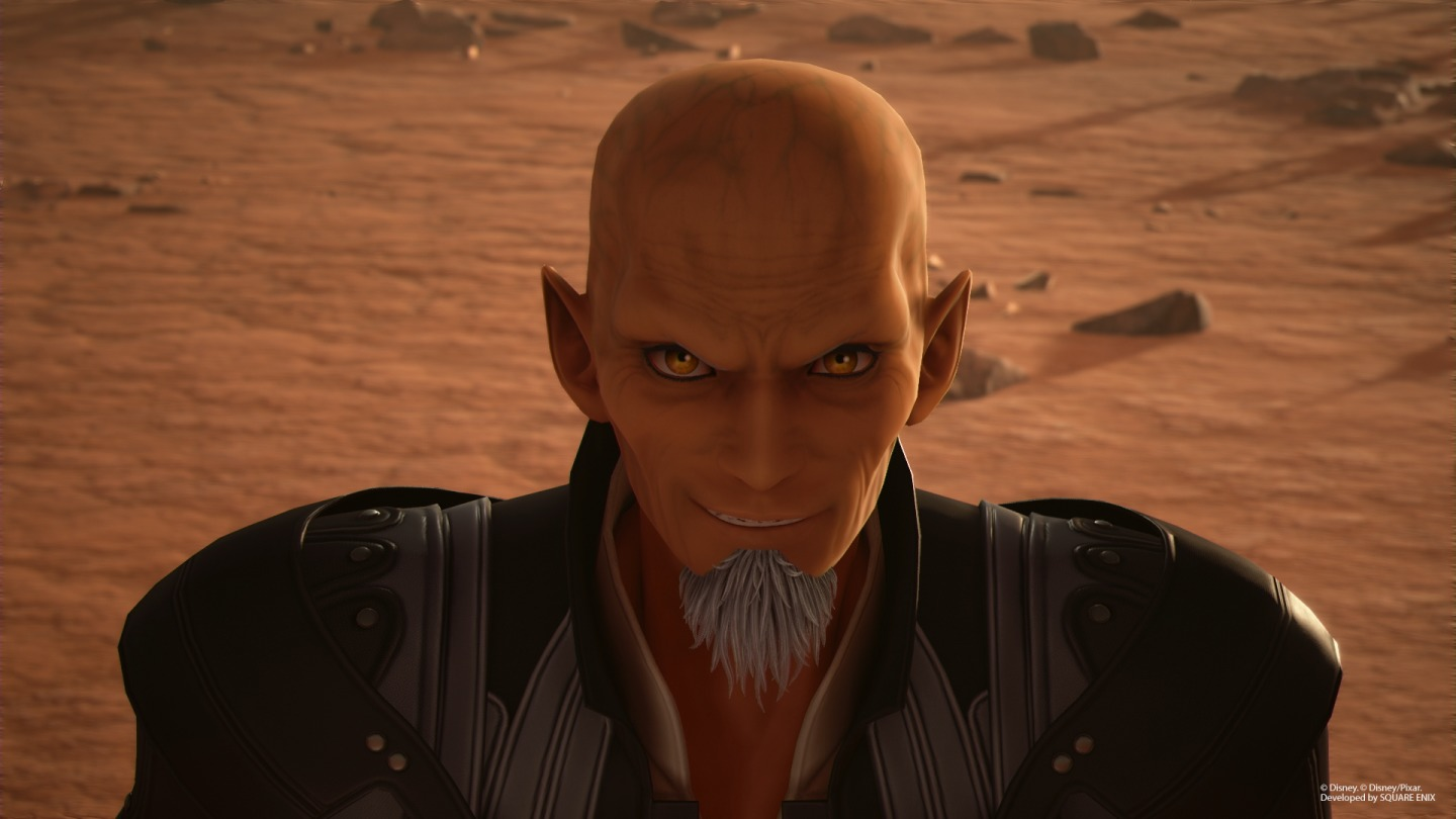 xehanort, kingdom hearts 3, voice actor