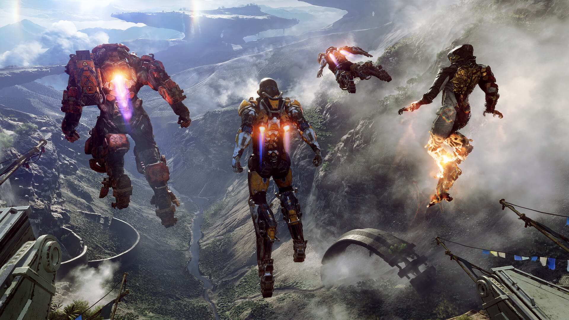 Anthem, what you need to know about cross-platform
