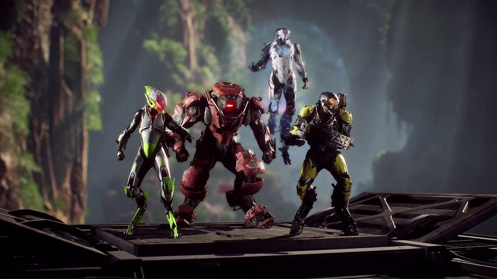 Anthem Legion of Dawn weapon disappeared