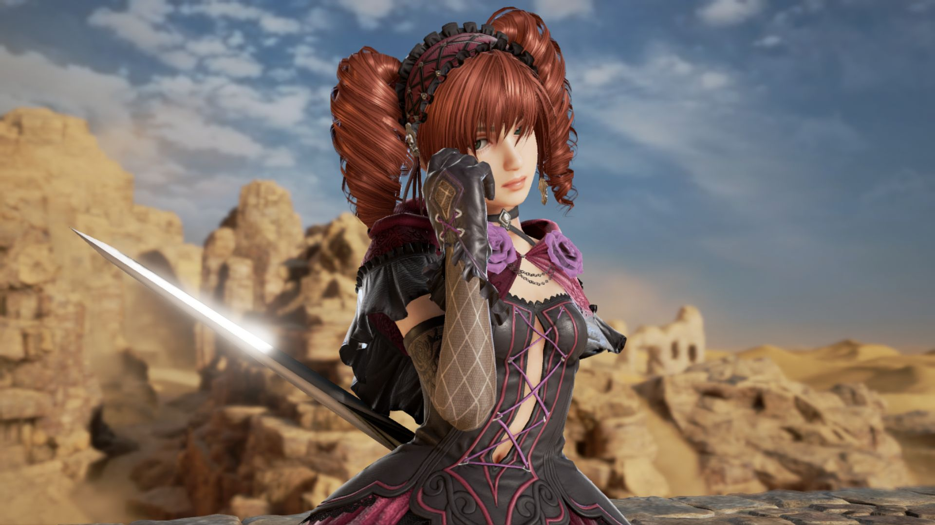 Soulcalibur Vi S Dlc Ami Shines In Tons Of Screenshots New