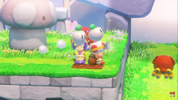 Captain Toad Treasure Tracker, Switch