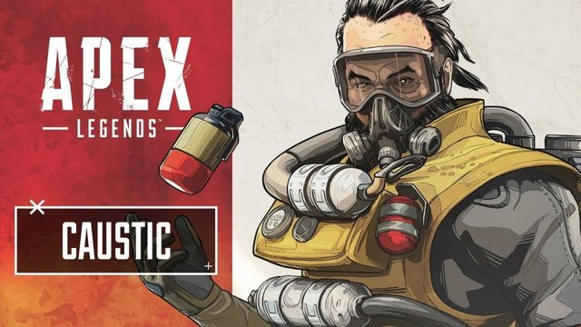 caustic, how to play, apex legends
