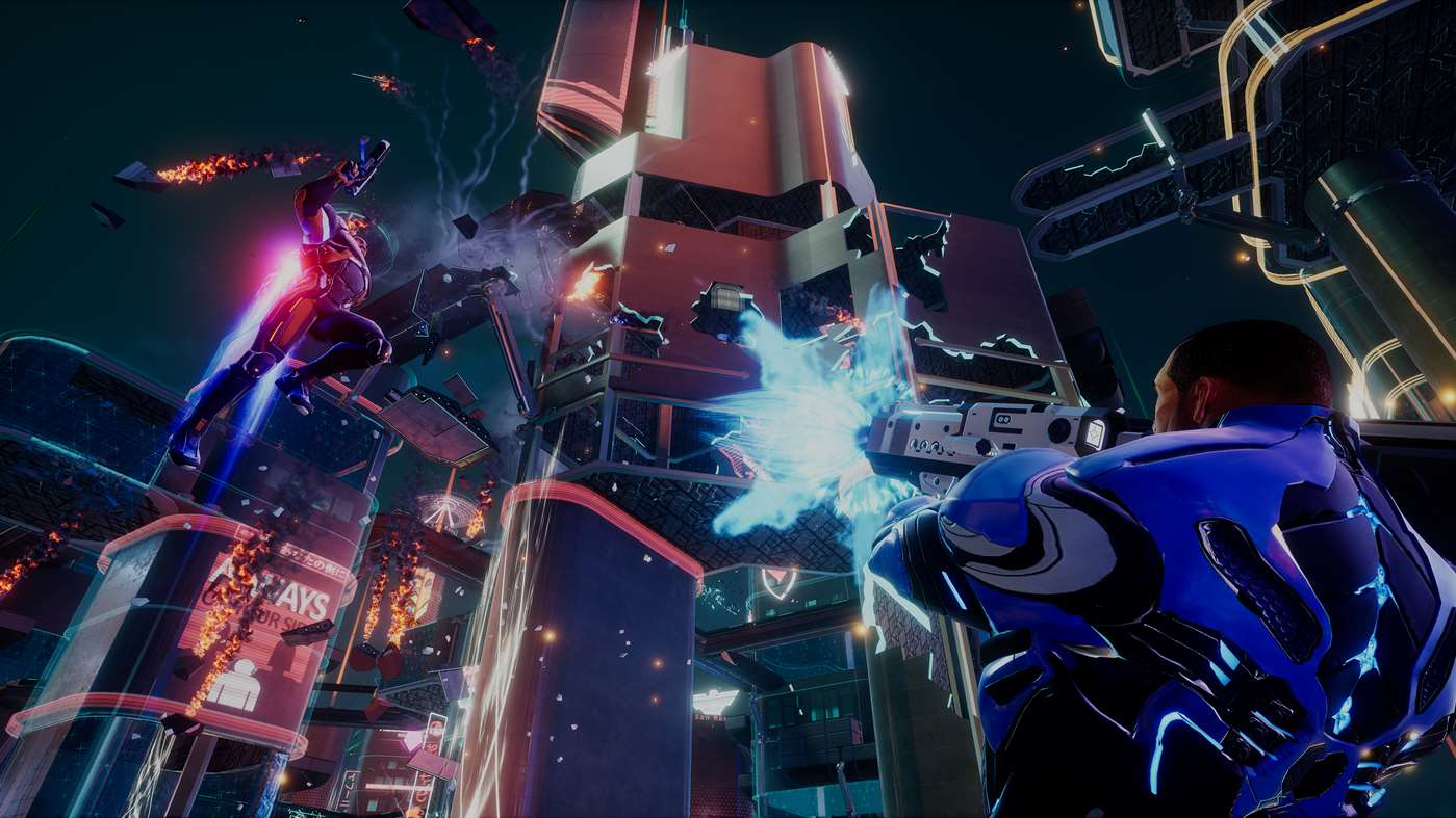 Crackdown 3, co-op, multiplayer