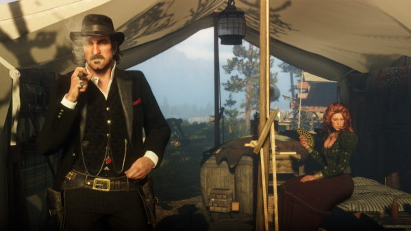 red dead redemption 2, interview, dutch