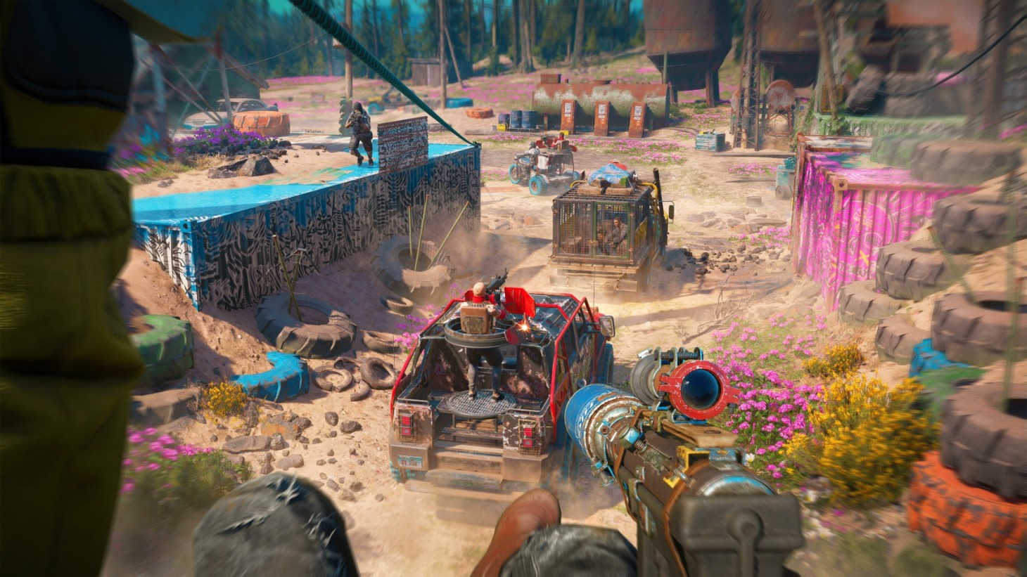 Throwable Weapons, Far Cry New Dawn