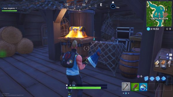 Fortnite Lazy Lagoon Chests All Lazy Lagoon Chest Spawn