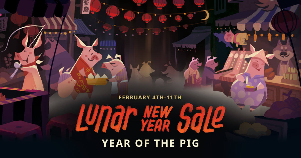 Lunar New Year Steam Sale Now Live With Special Offers