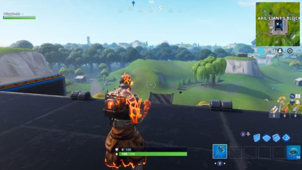 The block fortnite today