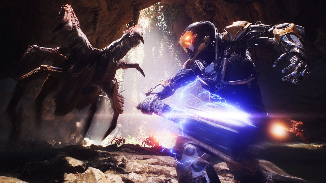 how to melee in anthem, melee attack, javelin, bioware,