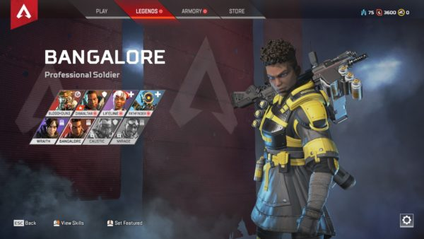 Apex Legends, Legends, playstyle, best characters