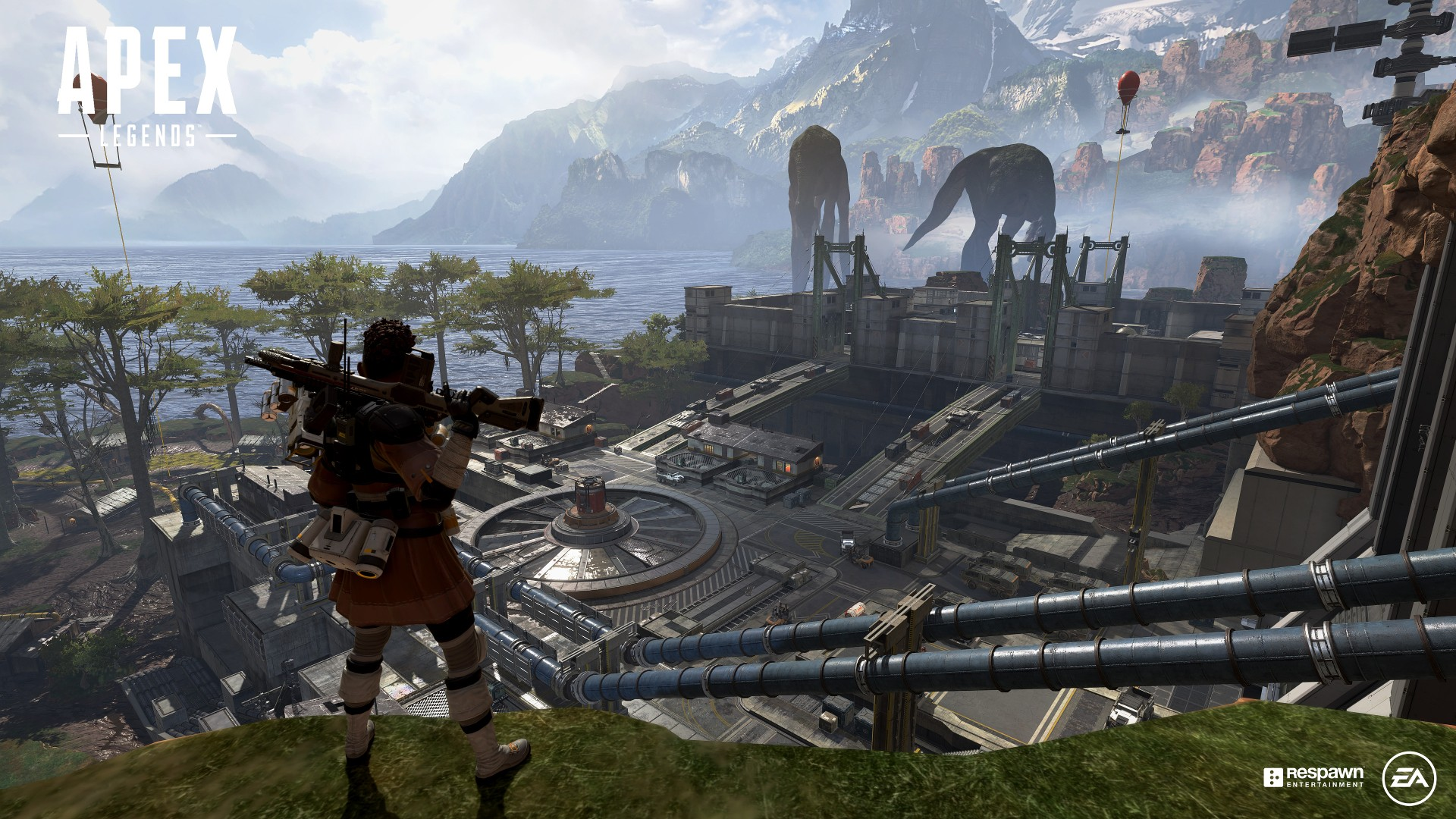 how to drop items, apex legends