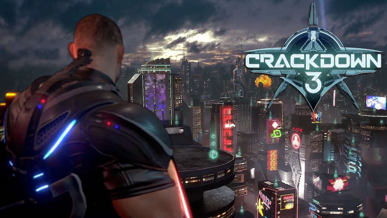 best way to level driving, crackdown 3