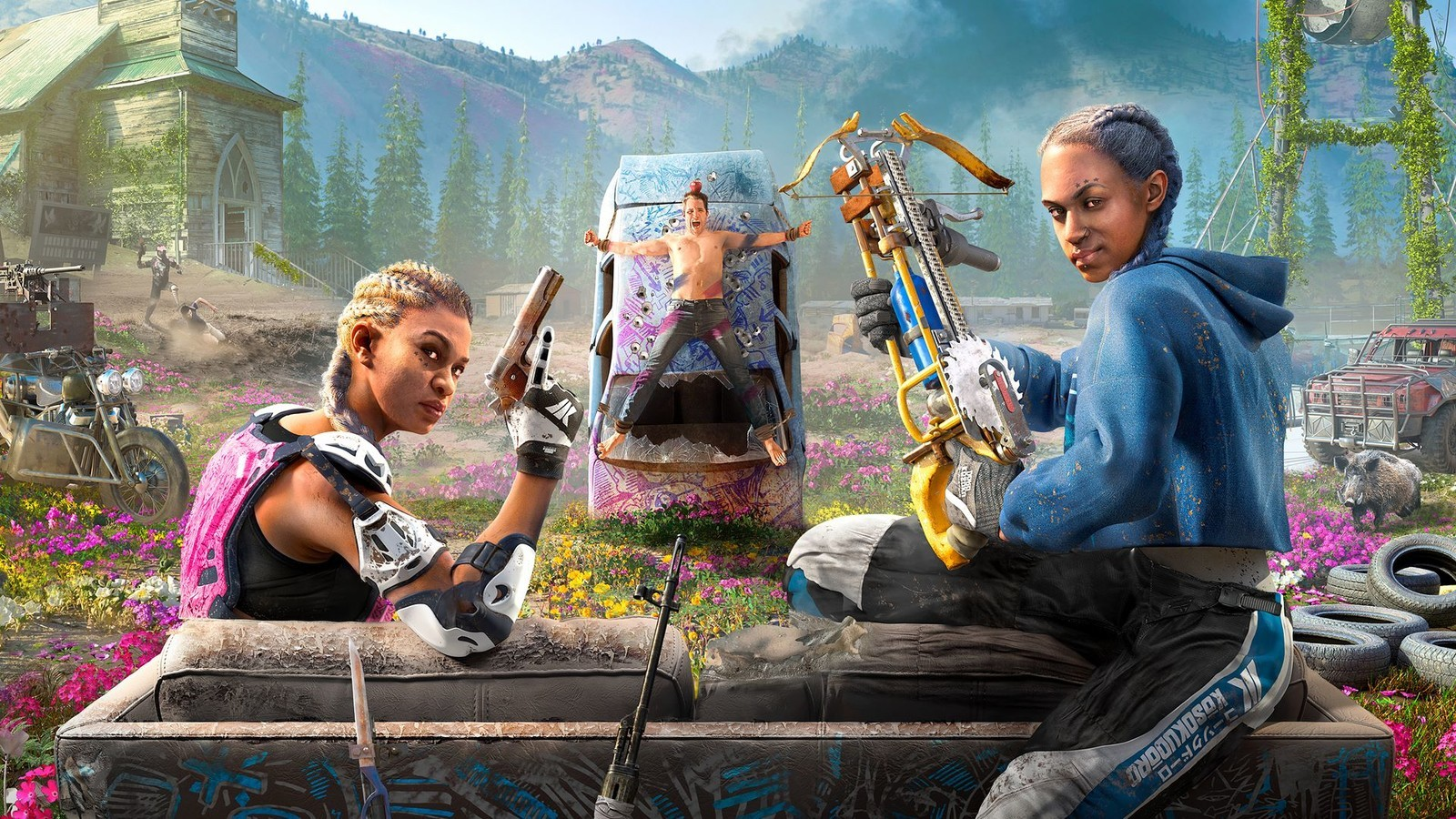 Far Cry New Dawn How To Revive Guns For Hire