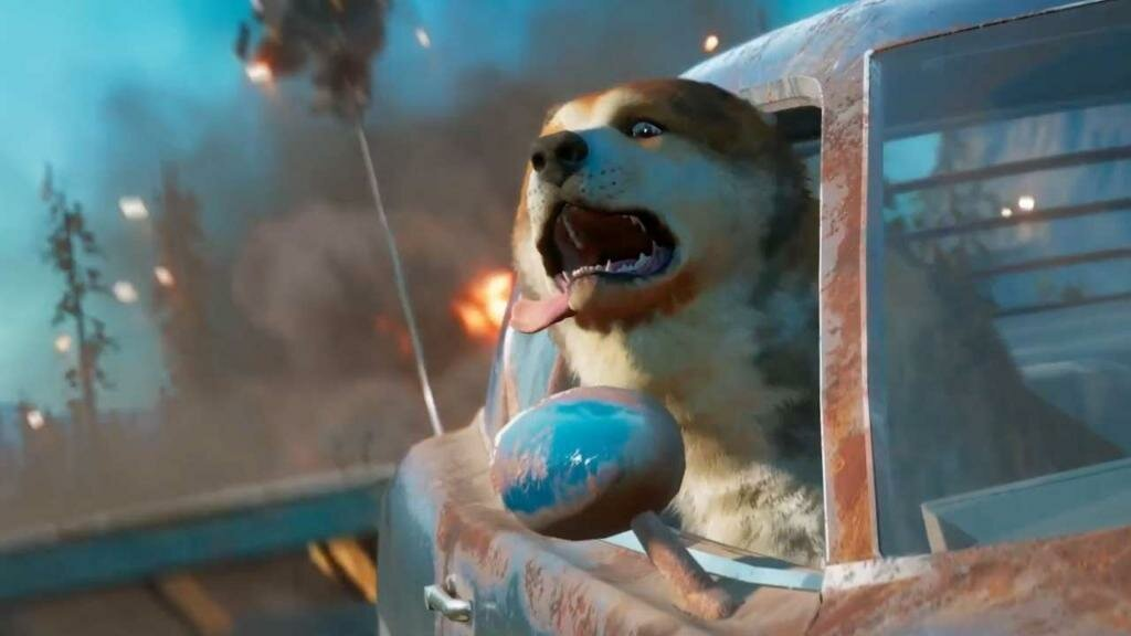 how to get the dog in far cry new dawn, how to get timber, far cry new dawn, guns for hire, ally, side mission