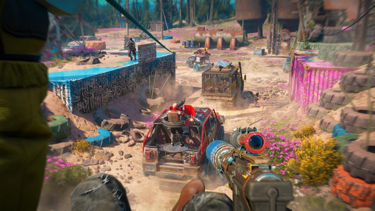 Far Cry New Dawn, Resources, Fast