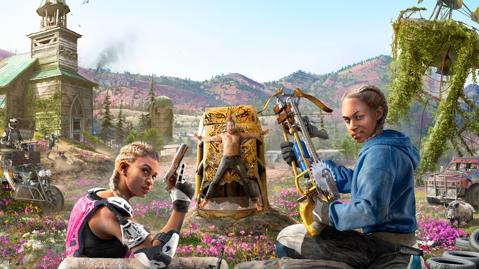 Far Cry New Dawn, Split-Screen Multiplayer, Xbox One X Enhanced