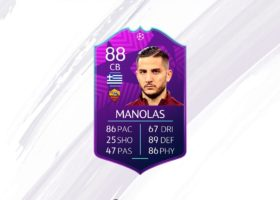 fifa 19, ucl moments manolas sbc
