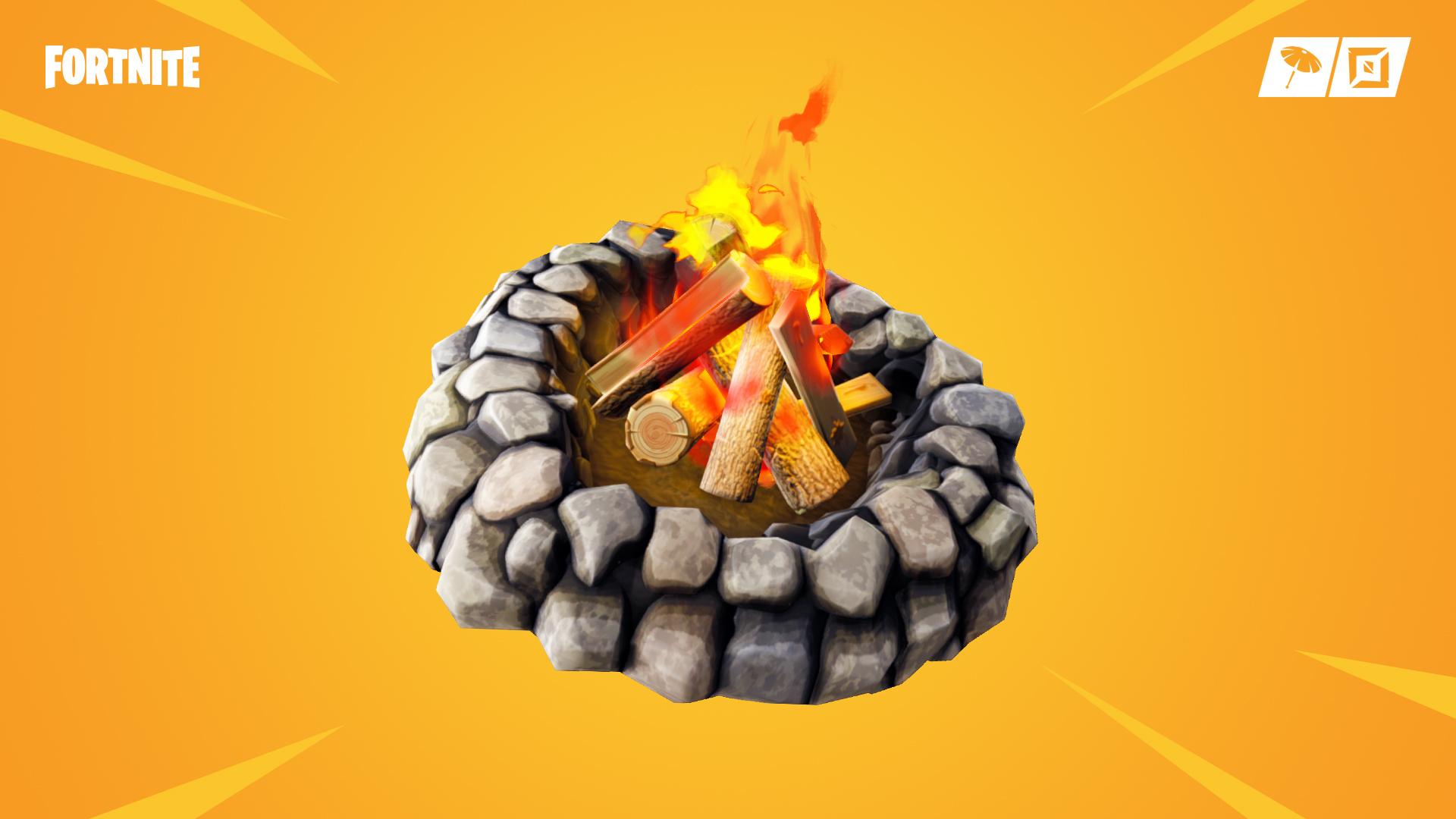 fortnite foraged campfires